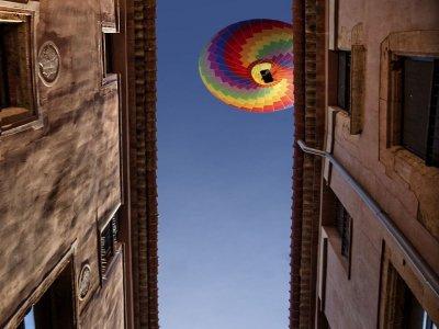 Paseo en globo con desayuno y vídeo por Aljarafe