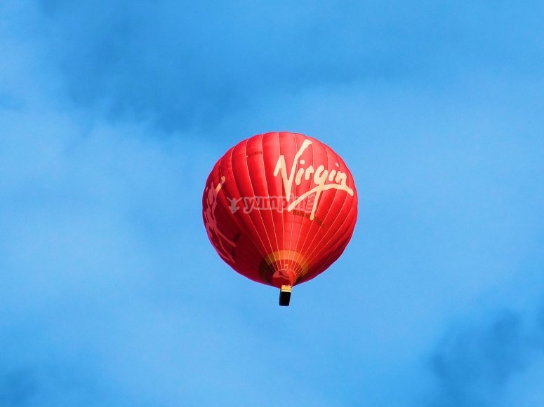 Balloon tour across Campos de Tejada