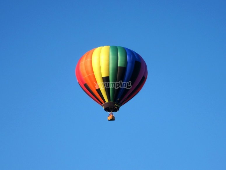 热气球穿越 Campos de Tejada
