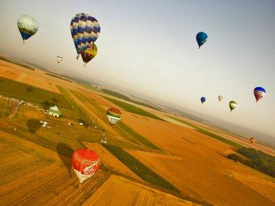 Vuelo en globo Campos de Tejada desayuno y vídeo
