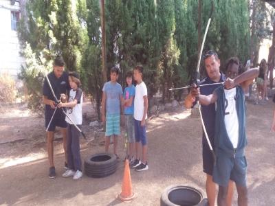 Campamento multiaventura colegios Marbella 4 días