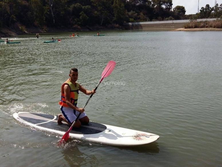 Paddle sur por el Lago de Las Torgugas