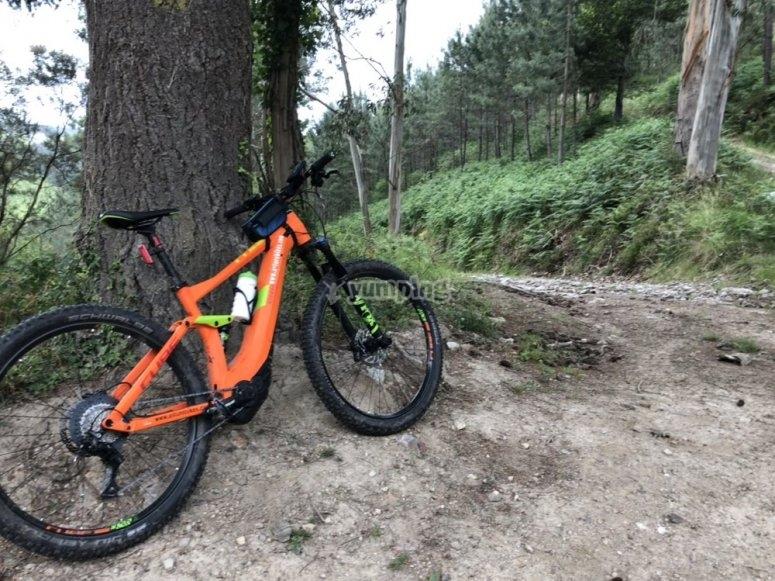 Ebike por la sierra de Asturias