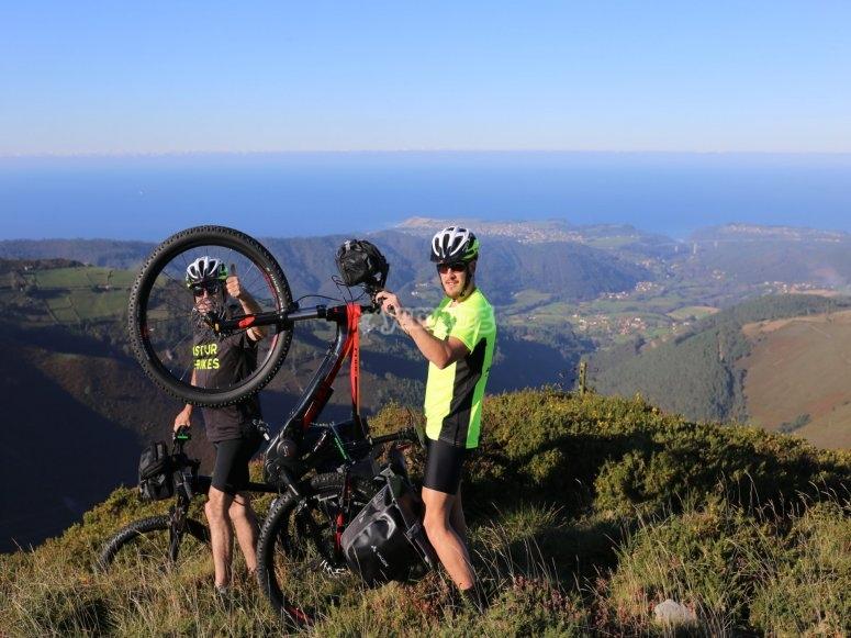 Sierra de los Vientos en bici