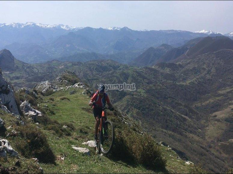 Travesías de baja dificultad en Asturias