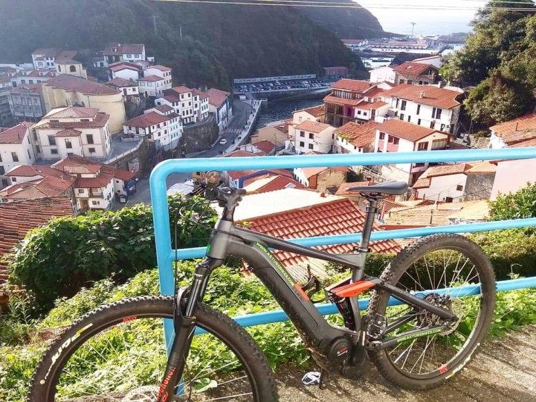 Panorámicas asturianas en bici eléctrica