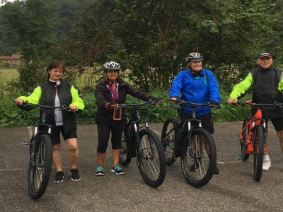 Tour in bici di 60 km sull'Ebike