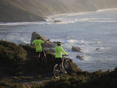 Percorso in bici elettrica da Cudillero 25 km