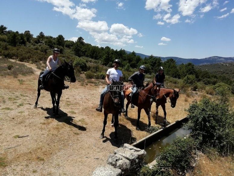 Horseback ride through Guadarrama