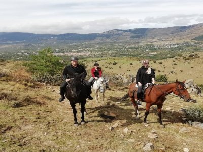 Horse riding in Sierra de Guadarrama 3 hours