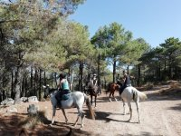 Travesía a caballo en familia por la Sierra de Guadarrama