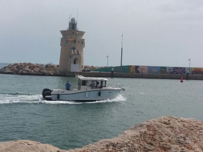 Boat trip through the bay of Cadiz 3 hours