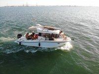 Paseo en barco por la bahia de Cadiz 3 horas