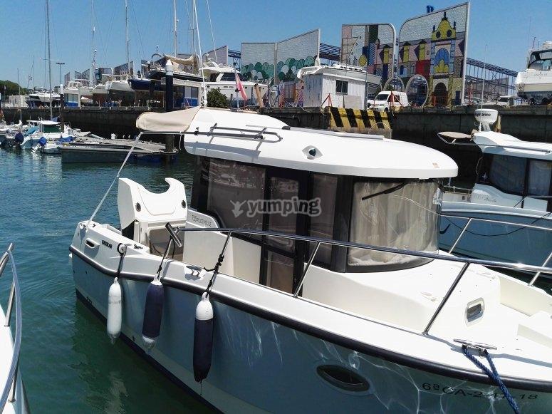 Salida en barco para parejas Cádiz