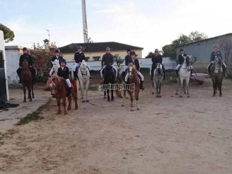 Equestrian center in Chiclana