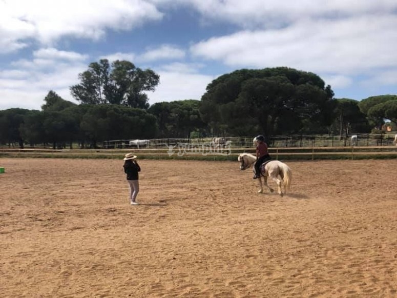 Horse riding in Chiclana