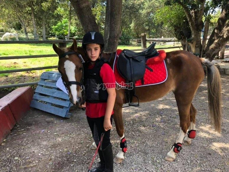 Children's horse class Chiclana