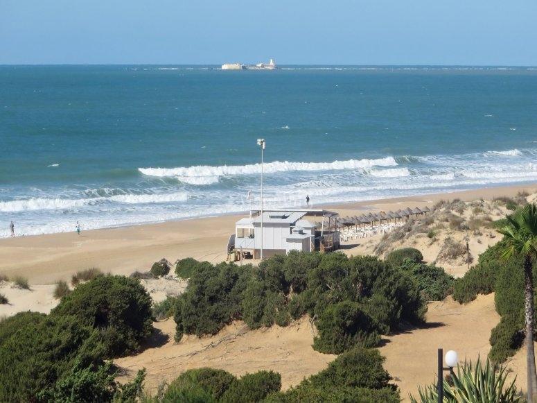 骑马毗邻巴罗莎海滩(Barrosa Beach)