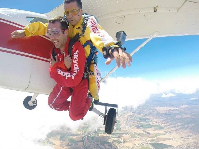 Saltar en paracaídas en Córdoba