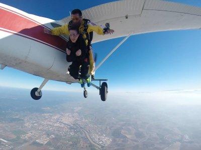 Salto in tandem dall'aeroporto di Cordoba