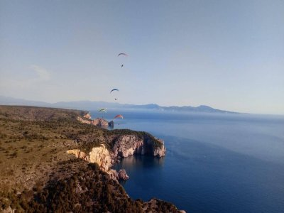 Fly on paramotor in Estartit 30 minutes