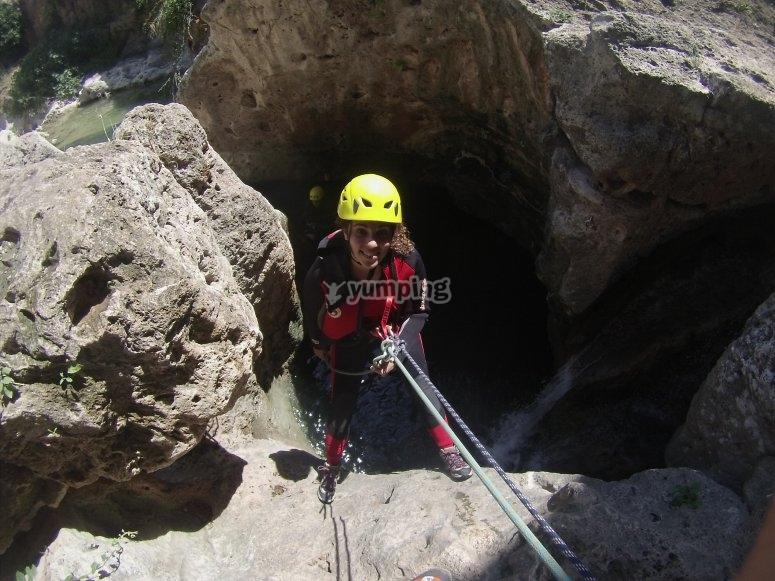 Gorgo de la Escalera Ravine
