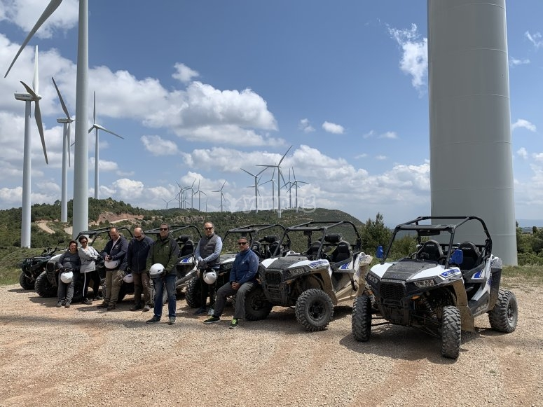 Buggy in windmills