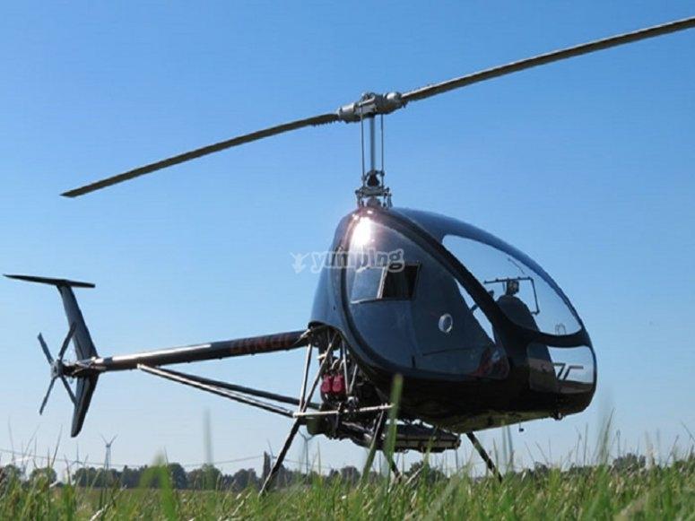 Helicóptero para dos personas