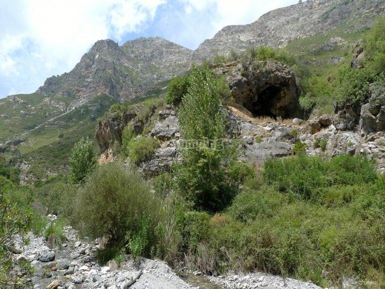 Sierra deOtívar峡谷