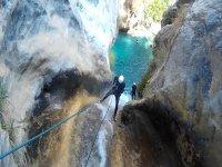 奥蒂瓦尔的起始水峡谷漂流