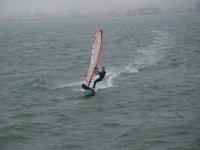 Luchando contra el viento