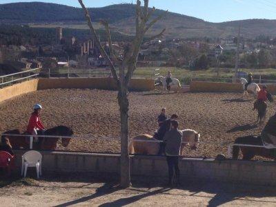 骑马课Buitrago de Lozoya 1小时