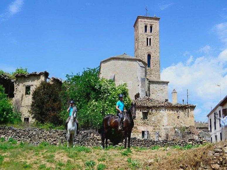 Montar a caballo por Sierra Norte