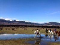 Salida a caballo Sierra Norte de Madrid