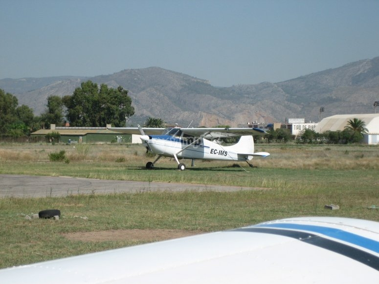Pilotage of a plane for a day from Igualada