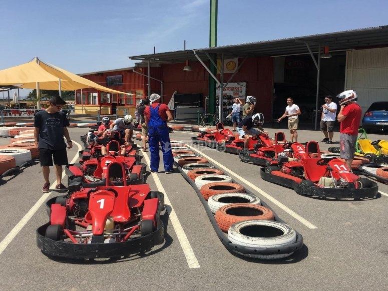 Campeonato de karts Cartagena