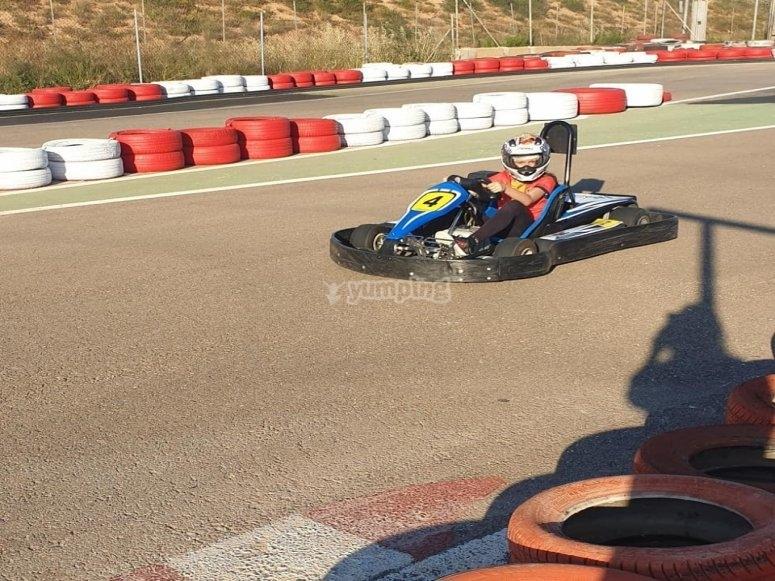 Karting infantil en Cartagena