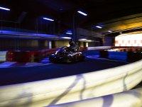 Pilotando en circuito indoor