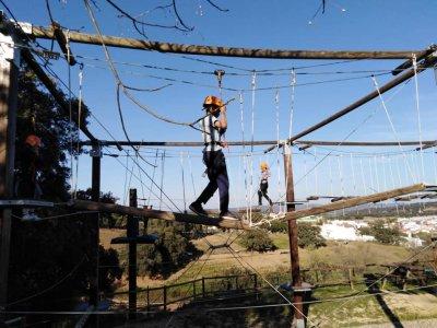 Tiro con arco, quad y parque aventura El Ronquillo