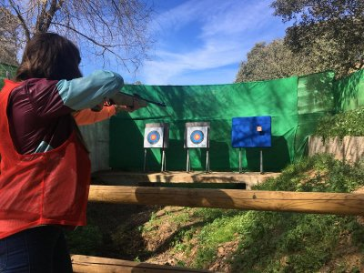 Pack tirolina, paintball y tiro con arco Ronquillo