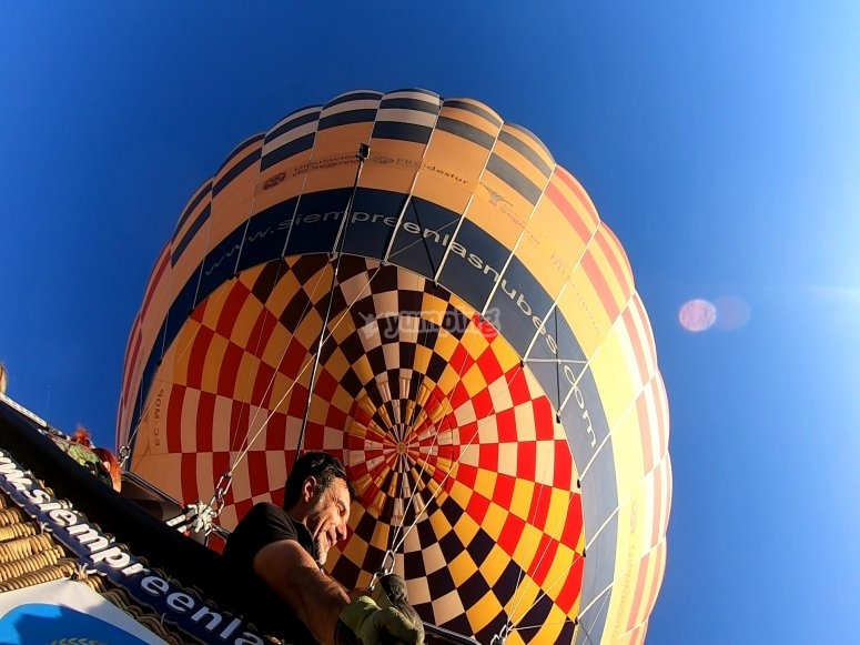Balloon tour for couples Ciudad Real