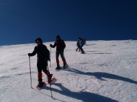 Excursión raqueta de nieve Circo de Becedas