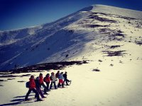Escursione con le ciaspole al picco di Peñalara 5 ore