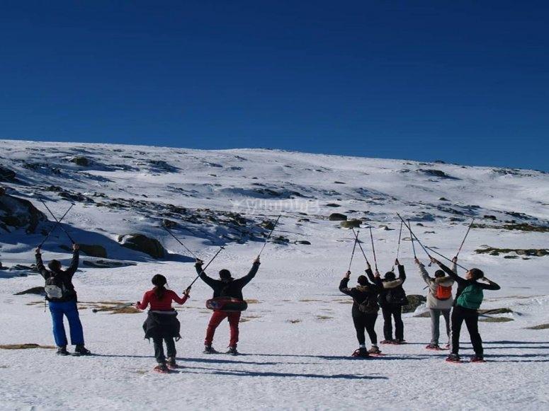 与雪中漫步Canchal Black