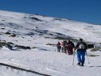 Escursione con le ciaspole al Canchal Negro 3h