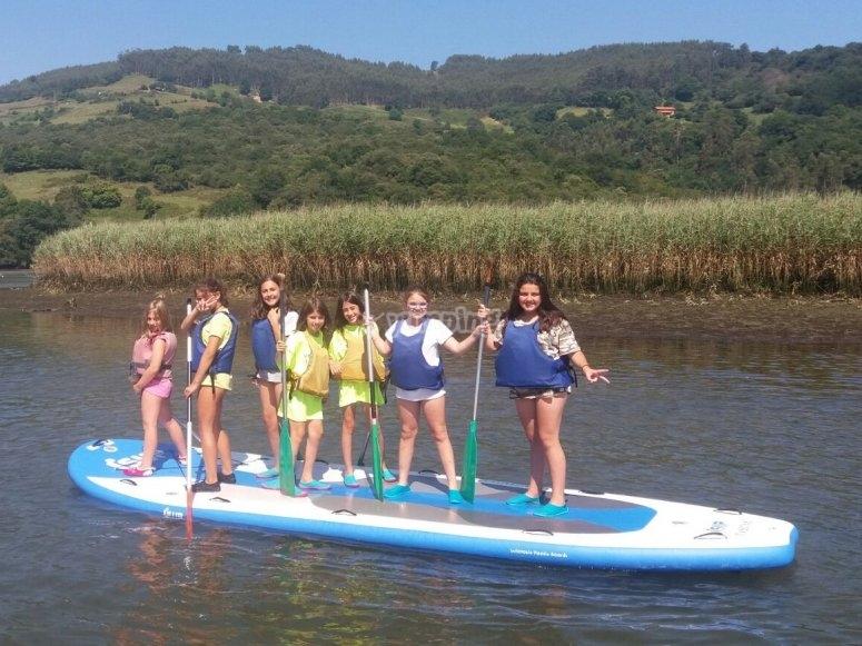 水上运动站立式桨