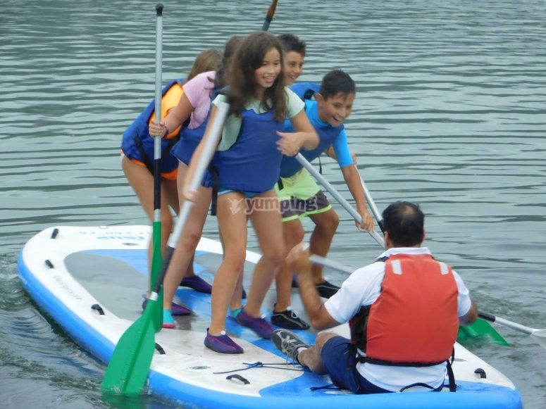 Stand Up Paddle nel gruppo