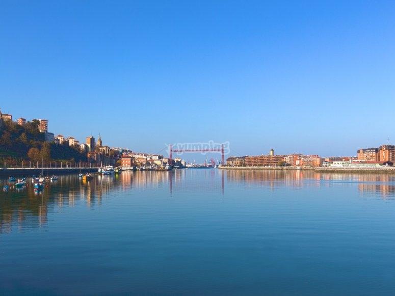 Pilot for a day estuary of Bilbao