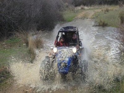 Ruta en buggy biplaza por senda rural El Casar 1h