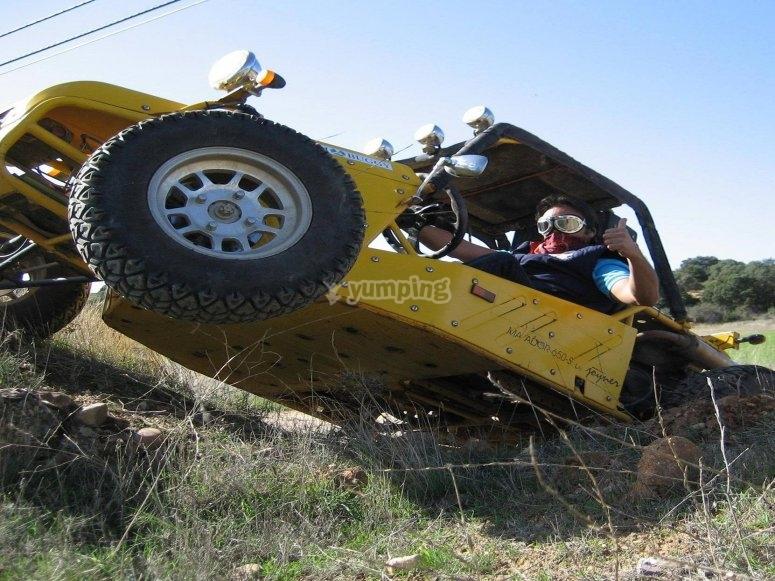 Extreme buggy tour through El Casar